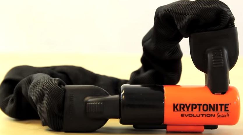 "55cm Kryptonite 1055 Evolution Mini Series 4 Chain Lock 21.5/"" x10mm"