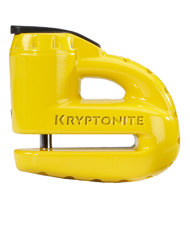 Kryptonite Stronghold Above-ground Disc Lock Black /& Yellow 4.25 ft Disc Lock
