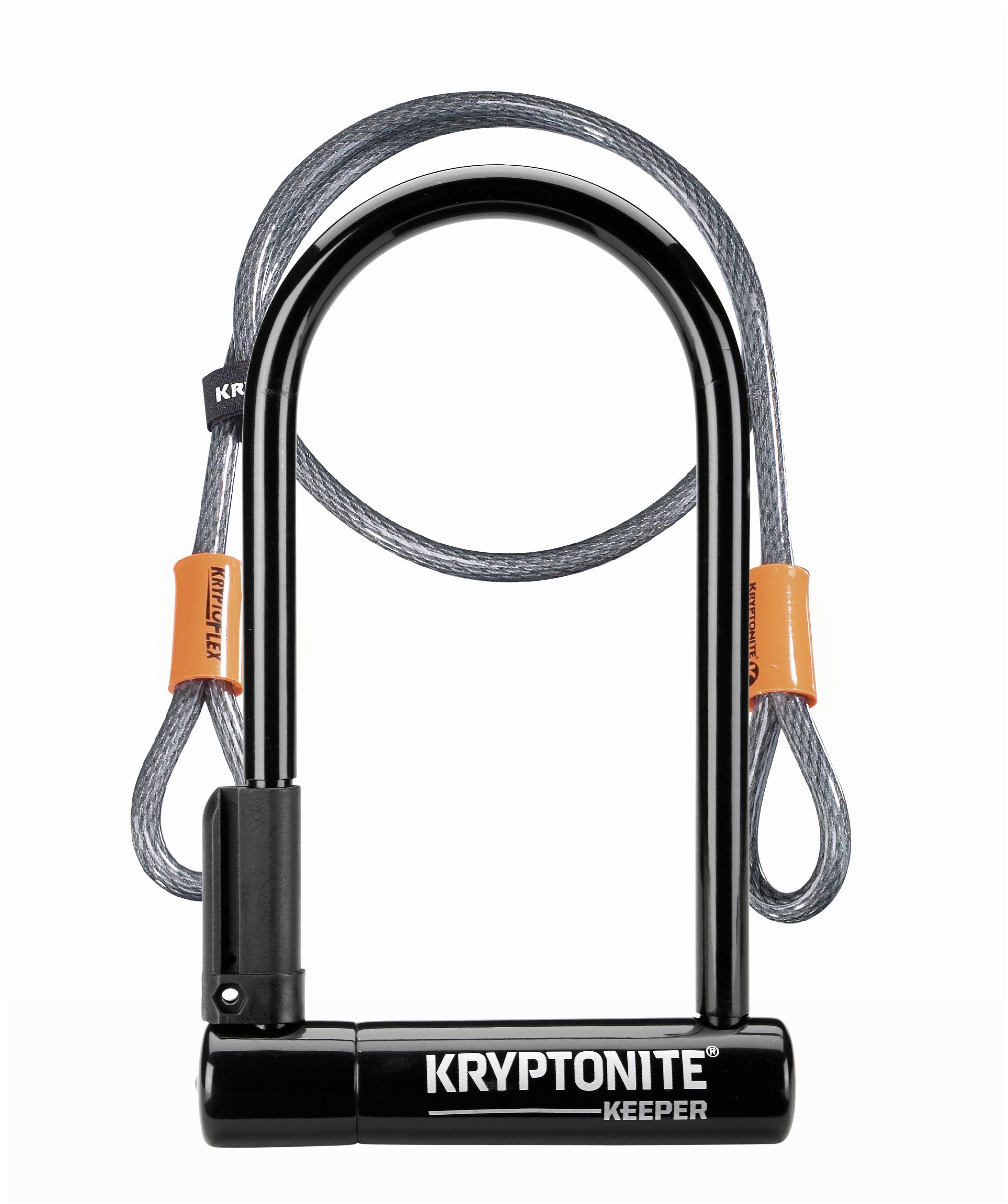 Kryptonite Keeper 12 Std U Lock with bracket