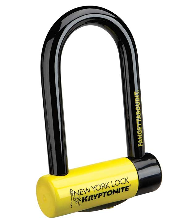 Heavy Duty Long Shackle U-Lock /& Keys Bicycle Lock NEW!