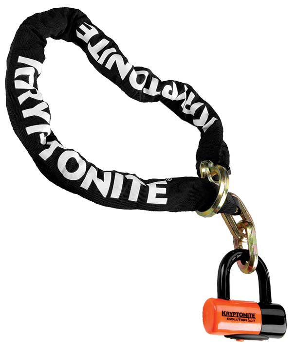 Kryptonite New York Noose 1213 Evolution series 4 disc Lock 4.25/' 12mm 130 cm