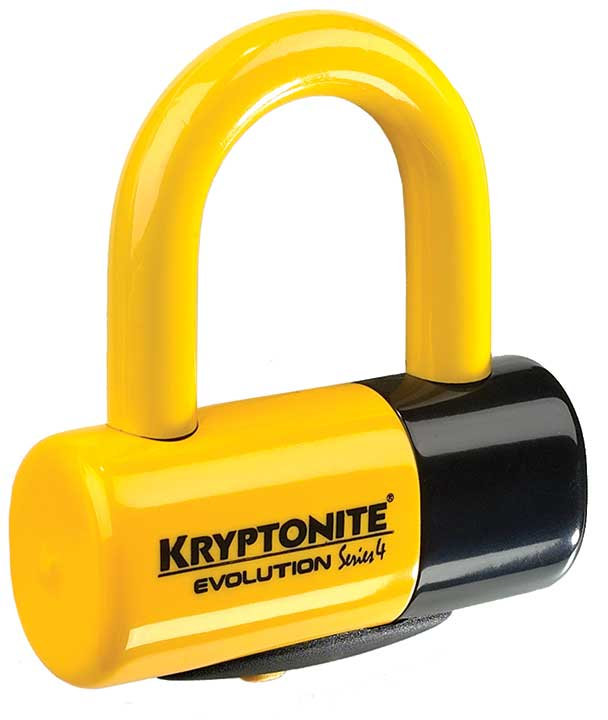 Evolution series 4 Disc Lock Yellow