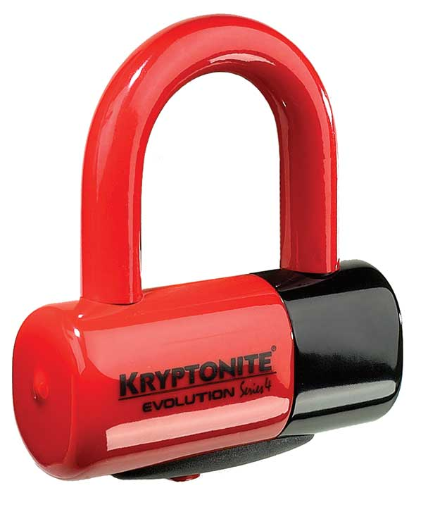 Evolution series 4 Disc Lock Red