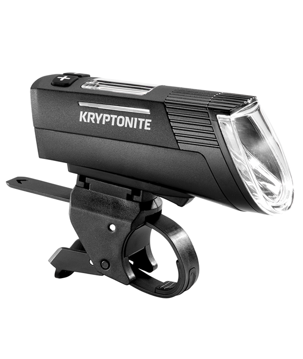 Kryptonite Stra/ßenbeleuchtung Schwarz leistungsstark